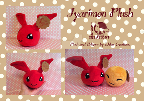 Jyarimon Plush by Ishtar-Creations