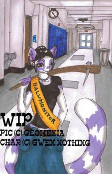WIP - Gwen Nothing Trade by geomexia