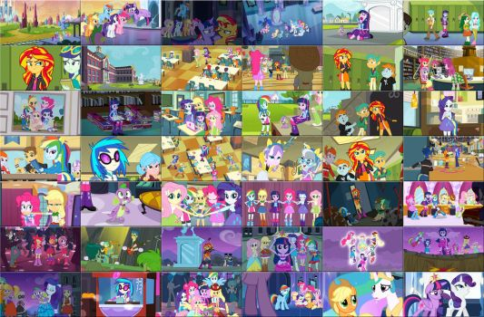 MLP Equestria Girls by GT4tube