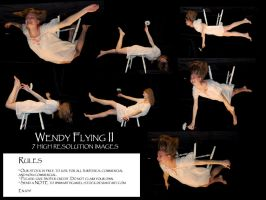 Wendy flying II by Mithgariel-stock