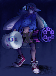SPLATOON: Inkling of Destruction and Bad Fashion by BechnoKid