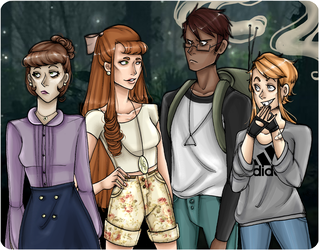 Kids in the Woods by SweetlyViolent