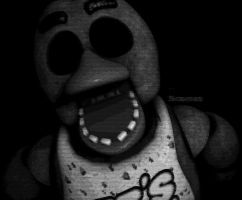Chica's Rare Jumpscare (Chica) (4k) by Razorsz