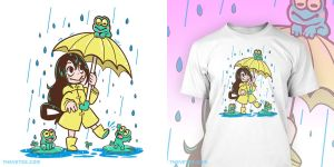 Froppy shirt printing on TheYetee.com today 24hrs by SarahRichford