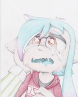 Ink Tears by YoshiandBlinx
