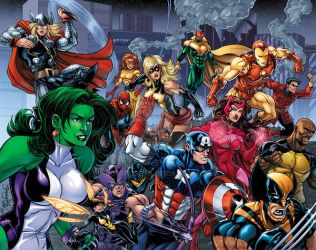 Avengers Assemble by RossHughes