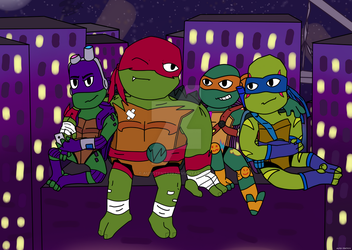 Rise Of The Teenage Mutant Ninja Turtles by AutoTFNT979