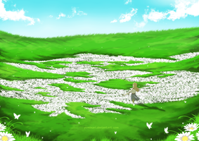 Flower field [Gift] by Yuminari