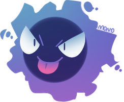 Gastly by monomite