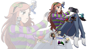 Vivian Second year wallpaper by KukuruyoArt