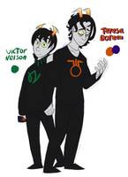 Victor and Teresa by Misclittles