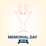 Memorial Day 2018 Graphic -Enjoy the holioday!- by ProjectCornDog