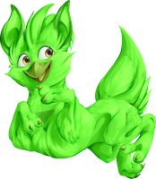 Gift-Fluffy Cactus- by Wolf-WrathKnight