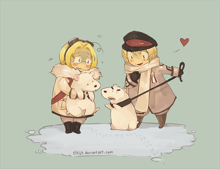 APH-Canada and Russia's bears by ELK64