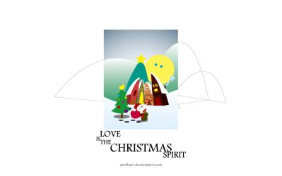 Love is the Christmas Spirit by Aesthari