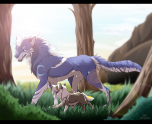 Come on, I'll teach you how to survive. by Zu-Nasr