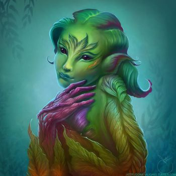 Tiny Salad (Sylvari Elementalist) - Guild Wars 2 by DonaVajgand