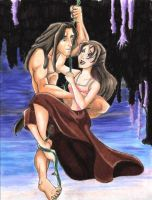 Tarzan and Jane by Sondra