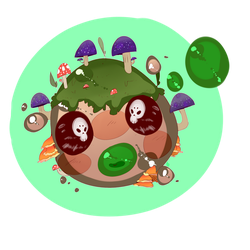 Toxic Shroom - Slime Rancher by BTCSToxic