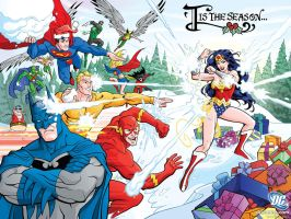 DC Holiday Card 2006 by Hominids