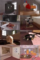 Daria's Room - Detailed Items by S-C