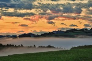 Foggy evening view by luka567