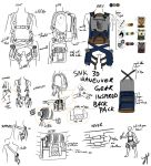 SNK/AOT: 3D Manuever Gear Inspired BackPack by Triptych-Schift