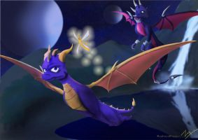The Legend of Spyro by RazorSoulslayer