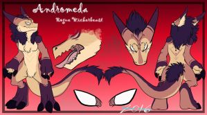 |Andromeda Rogue Wickerbeast| :Reference Sheet: by SafireCreations
