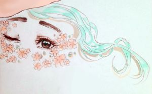 Spring Eyes by chronojessicapple