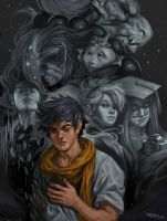 Ryu and Allies by NickRoblesArt