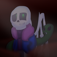 Evil Anti Glitch ttoba Sans 2.0 [Request] by cjc728