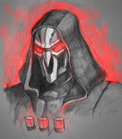 reaper sketch by ShivaWalker