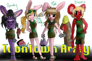 Toontown Army by LuvDietCoke10006