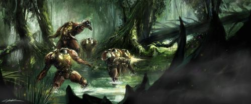 starcraft 2: heart of the swarm jungle expedition by VitoSs
