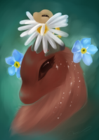 Flower crown by Martith