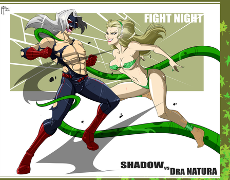 Shadow VS Natura By GREAT-DUDE by Cityhunter77