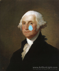 Mr. Washington is Crying!He is a baby by ArnoldTheBoy