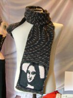 Brown Mona Lisa scarf by nellielaan