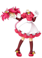 mad mew mew but she is really mad by aimturein