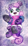 Sweetie In Snow by Tsitra360