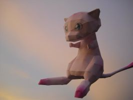 Mew papercraft by TimBauer92