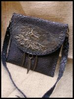 'Earth' leather handbag by morgenland