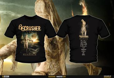 66crusher Wanderer Tshirt by szafasz