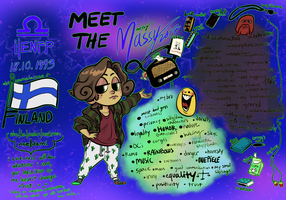 MEET THE ARIST: MASSY edition by ginmushroom