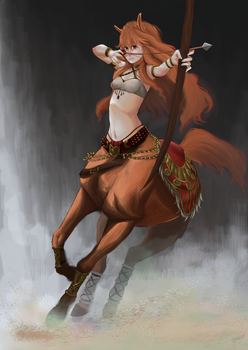 Hime Warrior by greenyswolf