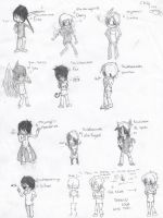 + CHIBI TIME + by TheJokersCards