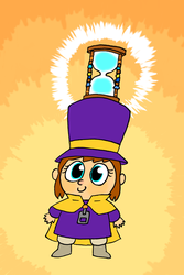 Hat Kid, Yay! Type 2 by EricJB