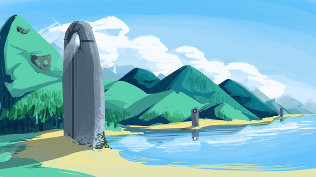 Background Practice by FastAndDelicious