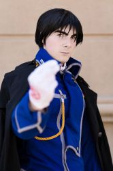 Fullmetal Alchemist - Roy Mustang Cosplay by Galactic-Reptile